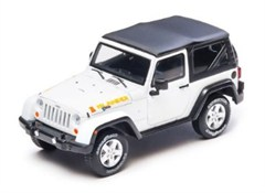 Collectible Jeep Wrangler Islander in White 1:43