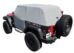Cab Cover, Waterproof w/ door flap for Jeep Wrangler JK 2007-2015