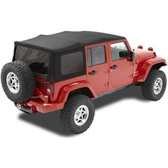 Supertop NX Complete Soft Top Kit 4 Door JK-Black Twill