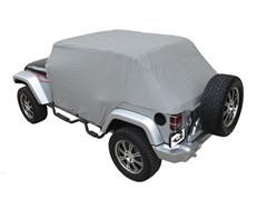 Cab Cover, Waterproof w/ door flap for Jeep Wrangler JK Unlimited