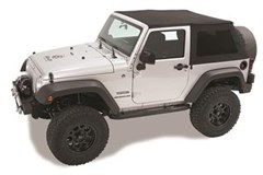 Trektop NX Complete Soft Top Kit JK-Black Twill