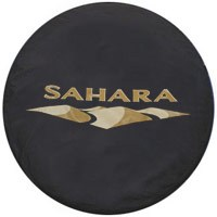 Jeep Sahara Tire Cover for 2007-2015 Wrangler Sahara