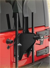 Tire Carrier for Oversized Tires Wrangler JK 2007-2017 by Smittybilt