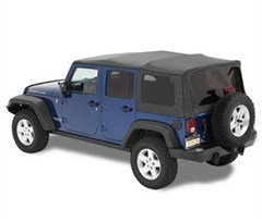 Bestop Supertop NX Soft Top Kit Wrangler JK 4D 2007-2017 Black Diamond