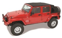 Trektop NX Complete Soft Top Kit JK Unlimited-Black Twill
