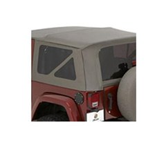Tinted Window Kit, Khaki Diamond, Jeep JK Unlimited 2011-2013