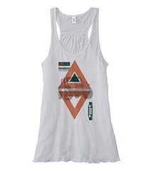 Tribal Jeep Wrangler JK Flowy Tank, White
