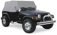 Cab Cover, Water Resistant in Gray for Jeep YJ, TJ (1992-2006)