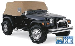 Cab Cover, Water Resistant in Spice for Jeep YJ, TJ (1992-2006)