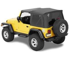 Bestop Supertop NX for Jeep TJ 1997-2006- Black Diamond