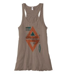 Tribal Jeep Wrangler TJ Flowy Tank, Pebble Brown