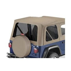 Tinted Window Kit in Khaki Diamond for Jeep TJ (2003-2006)