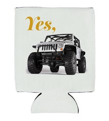 Crazy About Topless Models Neoprene Koozie
