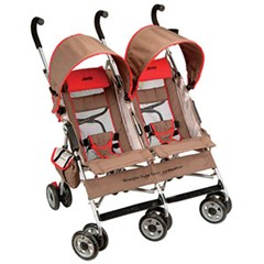 Jeep� Wrangler Twin Sport All-Weather Double / Twin Stroller