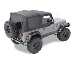 Bestop Supertop NX Complete Kit w/Tint Windows YJ- Black