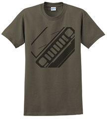 Jeep XJ Front Silhouette Men's Tee