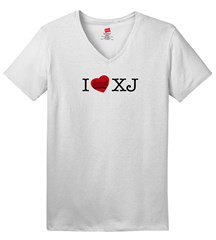 I LOVE XJ  Women's V-Neck T-Shirt