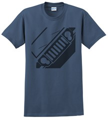 Jeep XK Commander Front Silhouette Men's Tee