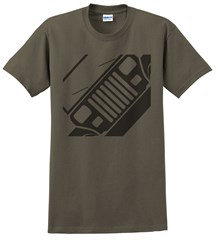 Jeep YJ Front Silhouette Men's Tee