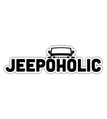 Jeepoholic Decal