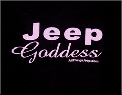 Jeep Girl Shirt: Jeep Goddess
