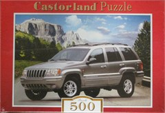 Jeep Grand Cherokee (Silver) Jigsaw Puzzle