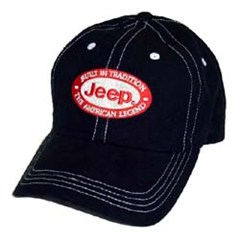 "Jeep Hat ""Built In Tradition, The American Legend"" (Black)"