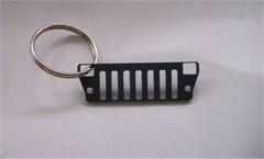 YJ Key Chain:  Jeep YJ Grille