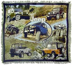"Jeep ""Classic"" Throw Blanket"