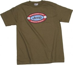 """Jeep """"The Unstoppable Legend"""" T-shirt (Green)"""