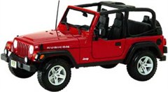 1:18 Jeep Wrangler Rubicon Diecast Model - Special Edition