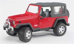 Jeep Wrangler Plastic Toy Model (Red)