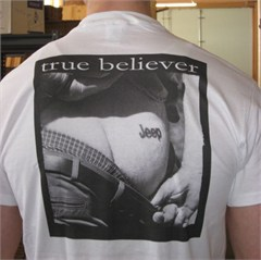 True Believer - Official Jeep Jamboree Tee (featuring Mark A. Smith)