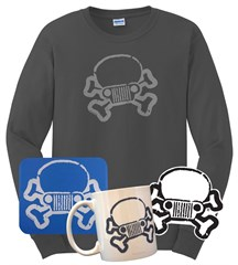 Jeep Skull & Crossbones Gift Set