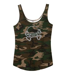JPFreek Junior Fit Camo Swing Tank