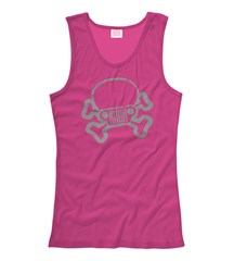 Jeep Skull & Crossbones Tank Top