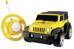 Kid Galaxy My 1st RC Jeep Wrangler, Yellow