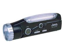 Jeep Flashlight / Lantern / Emergency Flasher / Radio