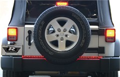 "49"" Rampage LED Tailgate Light Bar with Reverse Lights for Jeeps"