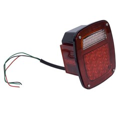 Left Led Tail Light Assembly-Jeep CJ,Wrangler YJ,TJ,LJ 1976-2006