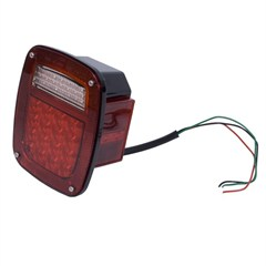 Right LED Tail Light Assembly-Jeep CJ, Wrangler YJ, TJ 1976-2006