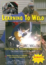 Learn to Weld DVD, from SideKick Offroad & Premier Power Welder