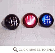 LiteGrip Aluminum Shift Knob - Jeep T5, AX5, AX15 5 Speed Trans