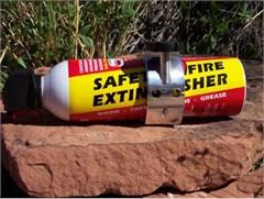 "LiteGrip� ""FireGrip"" Billet Aluminum Fire Extinguisher Bracket"