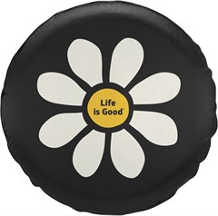 "Life is good ""DAISY"" Tire Cover"