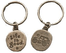 "Life is Good ""Native Offroad"" Keychain"
