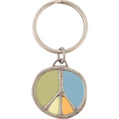 Life Is good Peace Key Chain