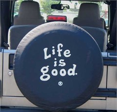 "Life is good Tire Cover, ""Coin"""