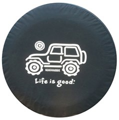 "Life is Good ""Native Offroad"" Tire Cover"