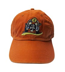Life is good Mens Chill Cap, Dog Gone, Toasted Orange